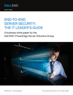 End-To-End Server Security: The IT Leader's Guide