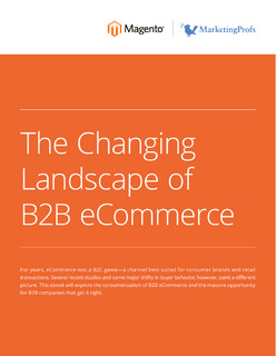 The Changing Landscape of B2B eCommerce