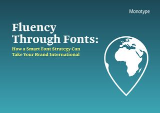 Speak like a local: How a smart font strategy can take your brand international