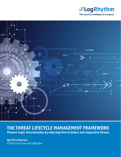 Threat Lifecycle Framework | Prevent major data breaches