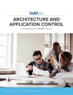 Architecture and Application Control