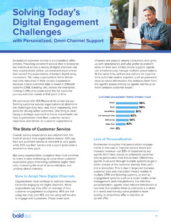 Solving Today's Digital Engagement Challenges