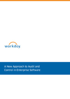 A New Approach to Audit and Control in Enterprise Software