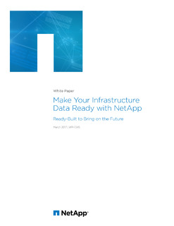 Make Your Infrastructure Data Ready with NetApp