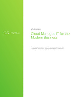 Cloud Managed IT For The Modern Business