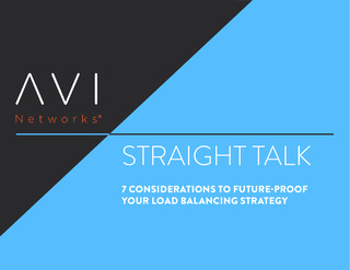 7 Considerations to Future-Proof Your Load Balancing Strategy
