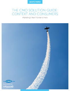 The CMO Solution Guide: Context & Consumers