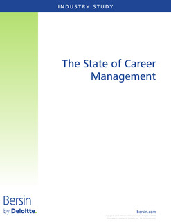 Bersin by Deloitte – The State of Career Management