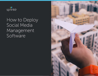 How To Deploy Social Media Management Software