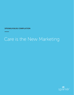 Care Is The New Marketing