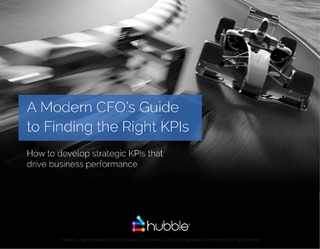 Modern CFO's Guide To The Right KPIs