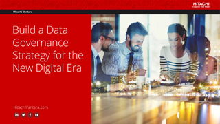 Build a Data Governance Strategy for the New Digital Era.