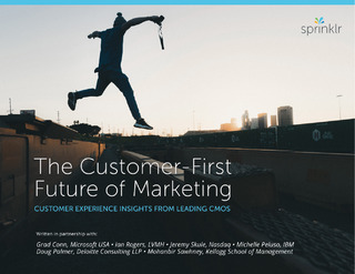 Whitepaper: The Customer First Future of Marketing