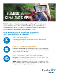 TELEMEDICINE CLEAR AND SIMPLE