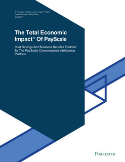 The Total Economic Impact of PayScale
