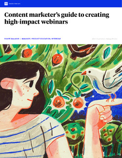 Content marketer's guide to creating high-impact webinars