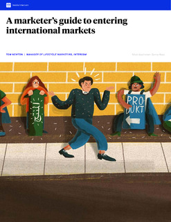 A marketer's guide to entering international markets