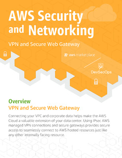 AWS Security and Networking – VPN and Secure Web Gateway
