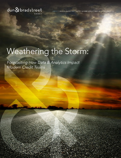 Weathering the Storm: Forecasting How Data and Analytics Affect Modern Credit Teams