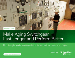 Get Expert Answers on Optimizing Aging Switchgear