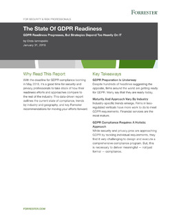 The State Of GDPR Readiness