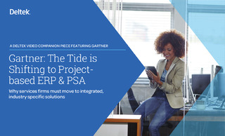 Gartner: The Tide is Shifting to Project-based ERP & PSA