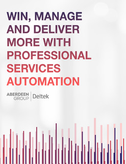 Win, Manage, and Deliver More with Professional Services Automation