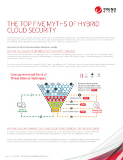 The Top five Myths of Hybrid Cloud Security