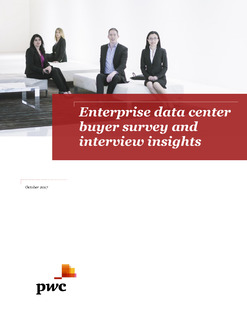 Enterprise Data Center Buyer Survey and Interview Insights