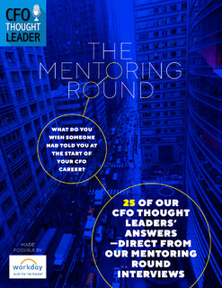 CFO Thought Leader Mentoring eBook