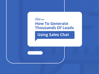 How To Generate Thousands Of Leads Using Sales Chat
