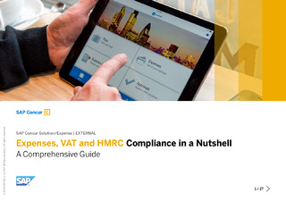 Expenses, VAT and HMRC Compliance in a Nutshell