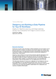 Designing and Building a Data Pipeline for Your AI Workflows