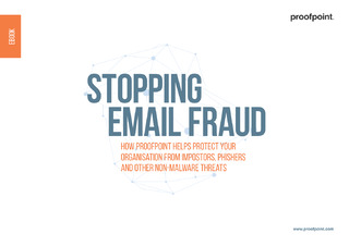 Stopping Email Fraud