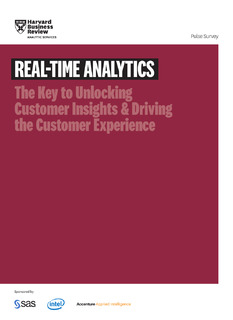 Harvard Business Review Analytic Services: Real-Time Analytics