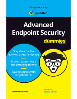 Advanced Endpoint Security for Dummies