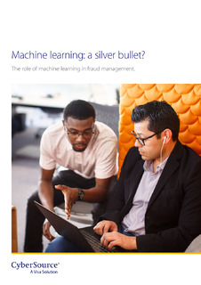 Machine learning: a silver bullet?