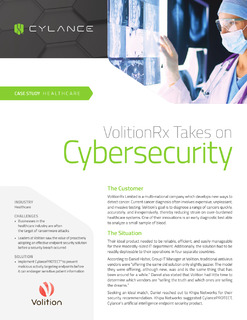 VolitionRx Takes on Cybersecurity