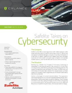 Safelite Takes on Cybersecurity