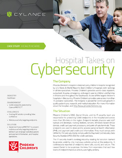 Hospital Takes on Cybersecurity