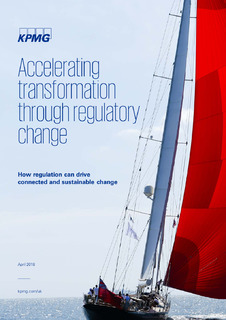 Want to leverage regulatory change to accelerate wider transformation?