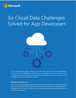 Six Cloud Data Challenges Solved E-book