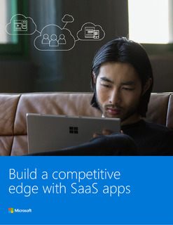 Build a competitive edge with SaaS apps