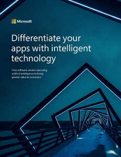 Differentiate your apps with intelligent technology