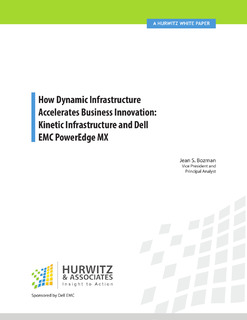How Dynamic Infrastructure Accelerates Business Innovation