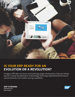 Is Your ERP Ready for an Evolution or a Revolution?