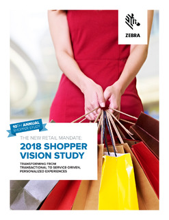 Our 2018 Shopper Vision Study reveals what shoppers really want, so you can deliver it.