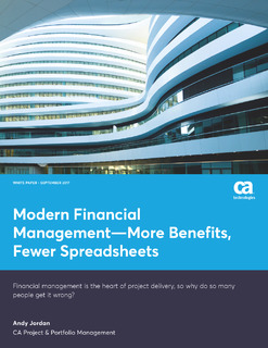 Modern Financial Management—More Benefits, Fewer Spreadsheets