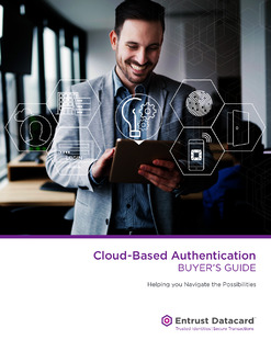 Cloud-Based Authentication Buyer's Guide – Helping you Navigate the Possibilities