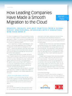How Leading Companies Have Made a Smooth Migration to the Cloud